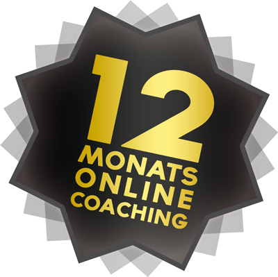 12 Monats-Onlinecoaching